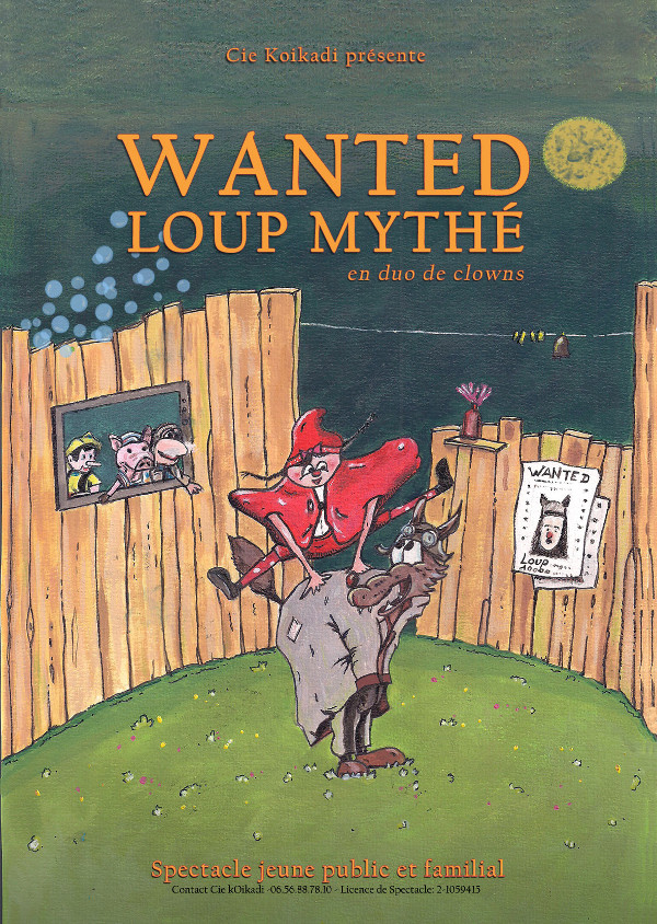 wanted Loup Mythé